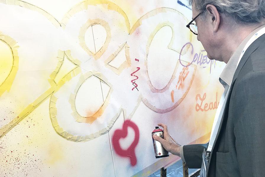 graffiti, graph, graff, street art, démonstration, participatif