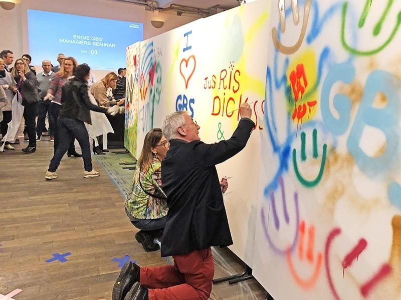 Graff, tag, street art, participatif, paris, France, région