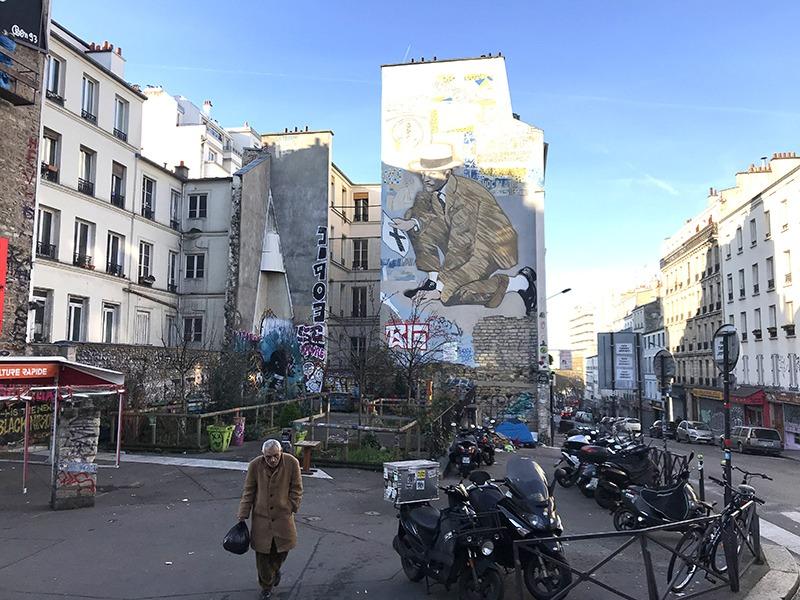 muralisme, street art, fresque, monumentale, Paris