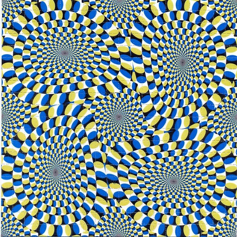 illusion, mouvement, optique, rétine, vasarely