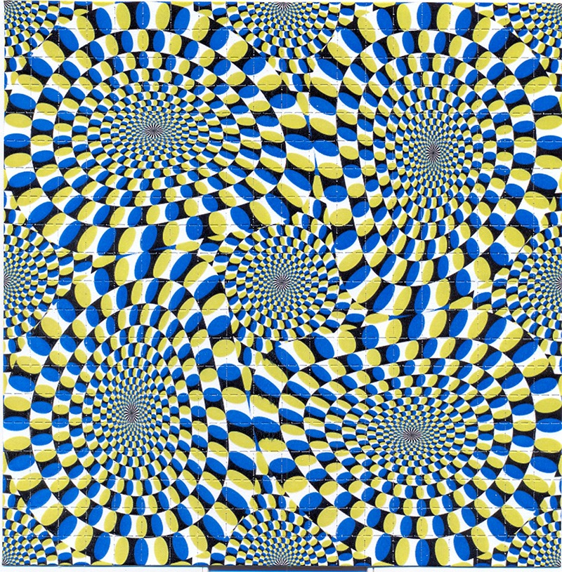 illusion, mouvement, optique, rétine, vasarely