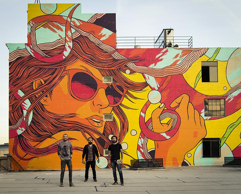 fresque graffiti, street art, murale muraliste, international, Brésil