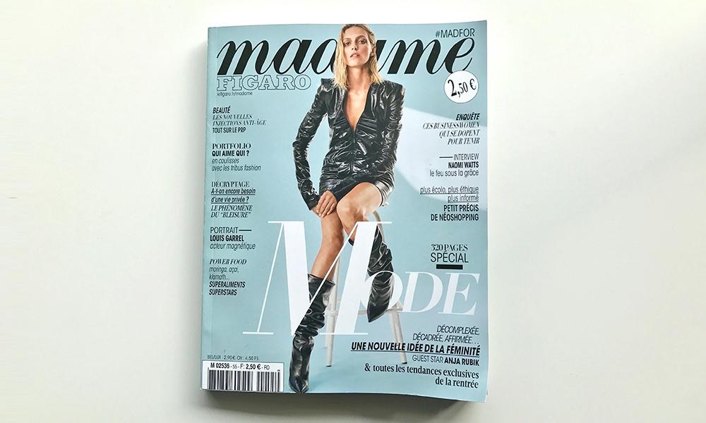 numéro de la rentrée du célèbre magazine de mode