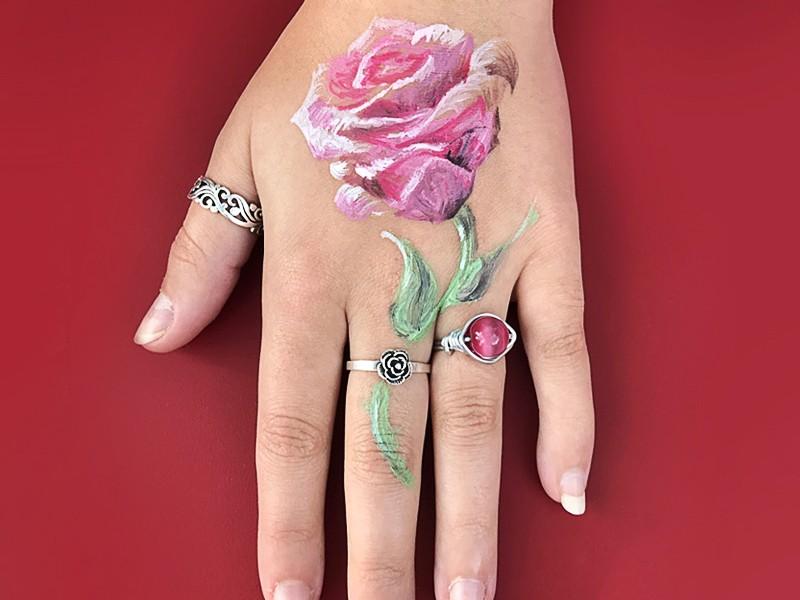 tatouage, maquillage, événementiel, art