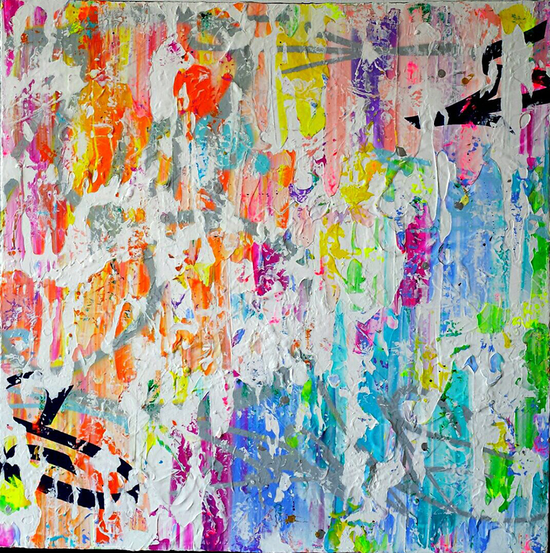 Abstraction, bonus, graffiti, street art