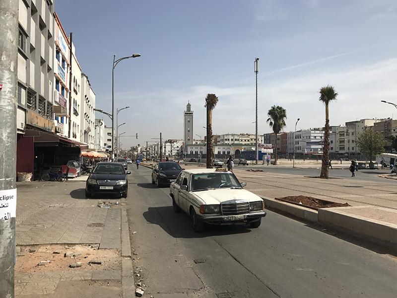 Rue de Casablanca, Maroc