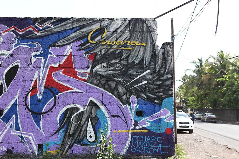 fresque, graffiti, art, rue, street, comoros