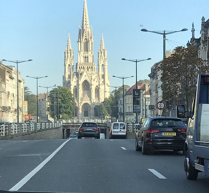 on the road, Belgium