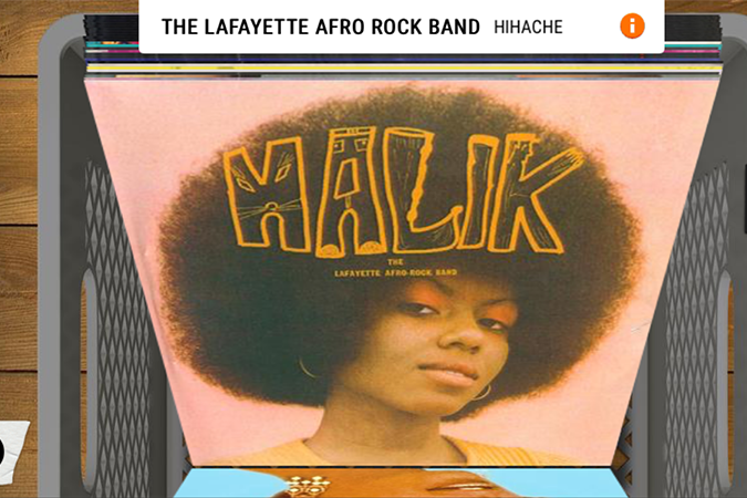 Cover Afro, vynil, american
