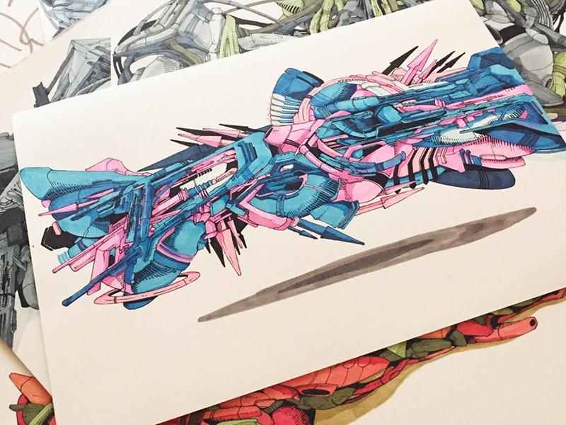 sketch, dessin, graff, papier