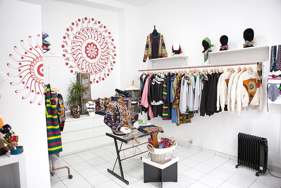 Création africaine, concept store, océan indien, Wax, Khanga