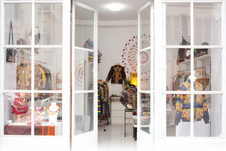 Concept store, afro, africain, Comores, Wax, lesso