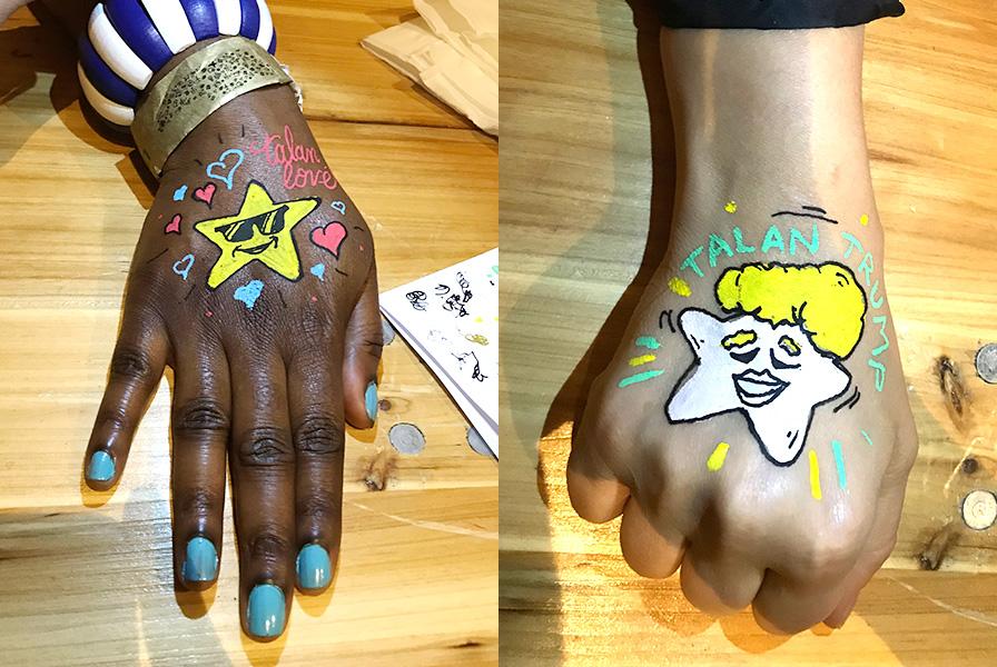 Animation, tatouages, tattoo, body painting, art, graffeurs, mystère