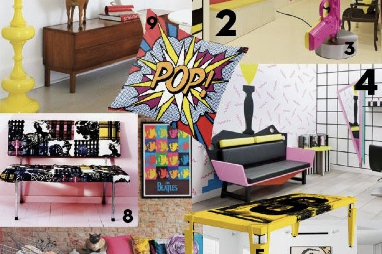Moodboard, pop art, street art, graffiti, inspiration, projet