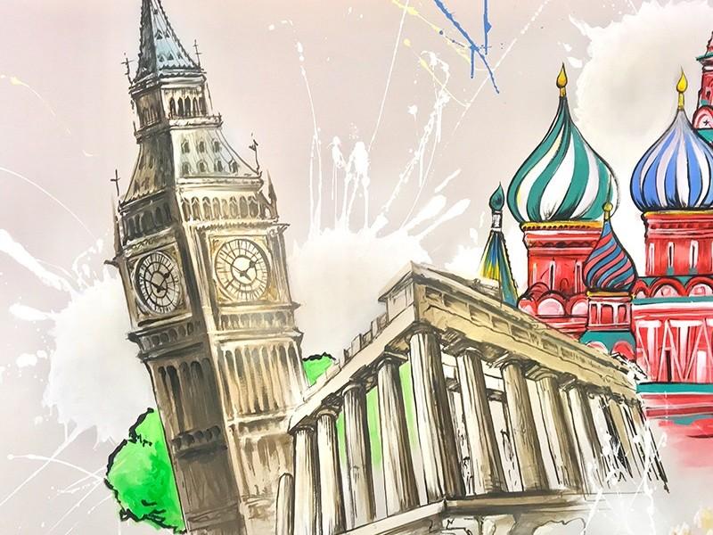 décoration, murale, accor, paris, tour, issy les moulineaux