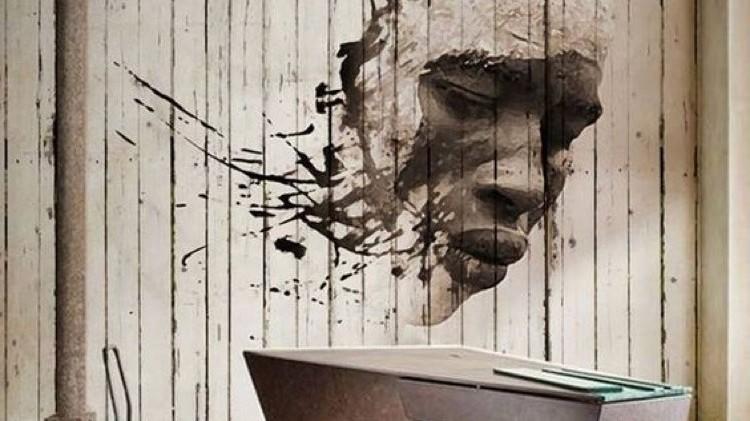 portrait, afro, africaine, art, street , paris, contemporain, art
