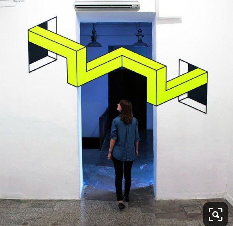 Exposition, Exposition Aakash Nihalani, conceptuel, simple, illusion optique, art, artiste, Paris