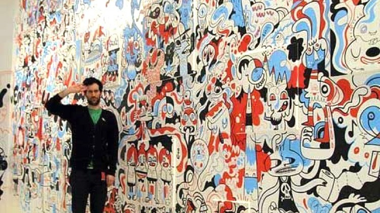 street art, jon bargeman, keith haring, naif, fou, déjanté