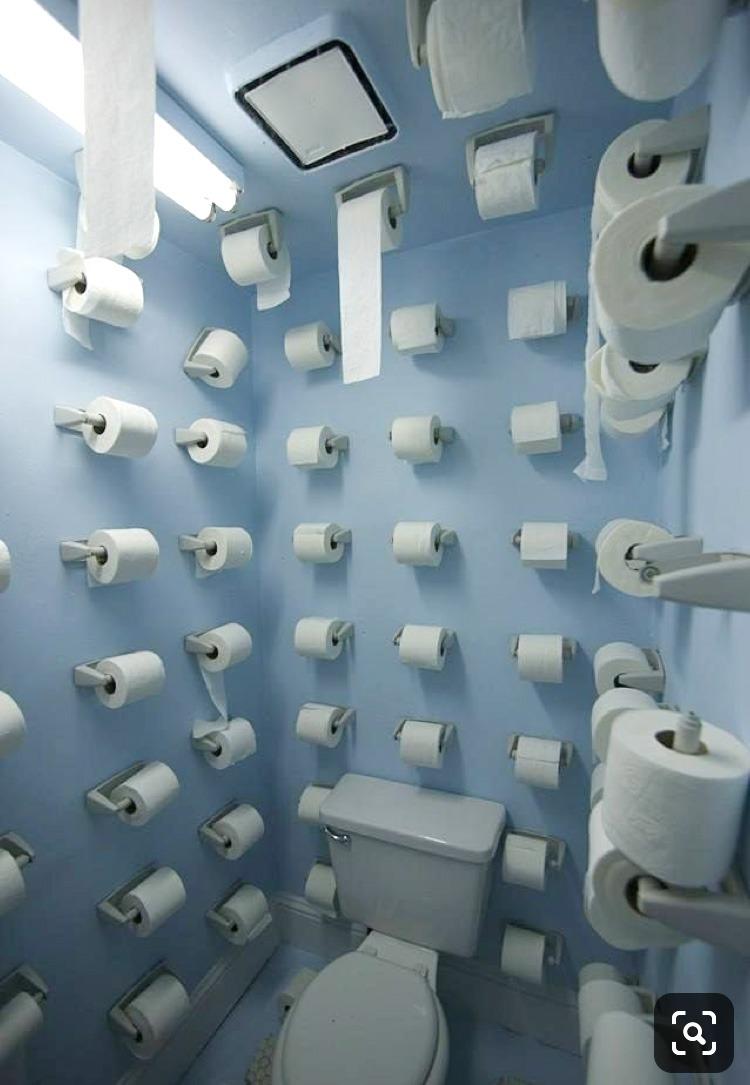 papier, toilettes, wc, sanitaire, original, décalé