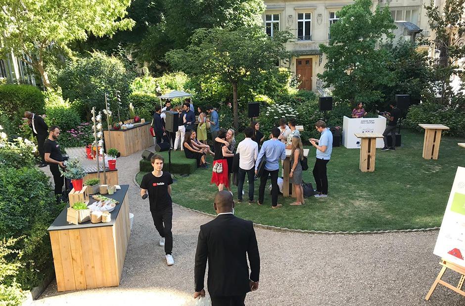Garden, Party, SACD, Paris, Soirée, événementielle, Paris