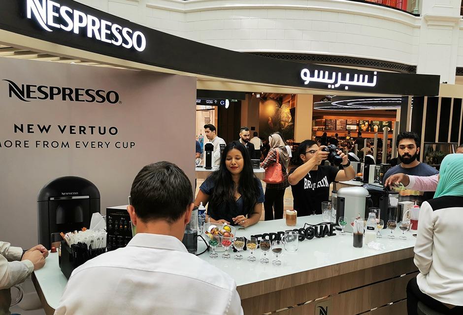 Nespresso, Dubai, Animation, Art, calligraphie, dégustation
