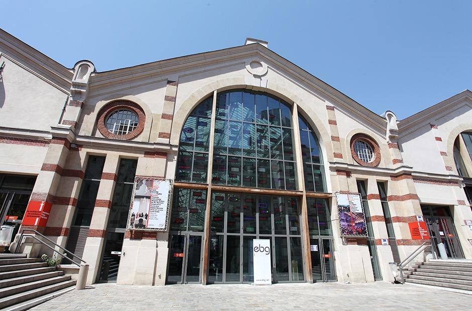 façade, devanture, extérieur, espace événementiel, Paris 104, Centquatre