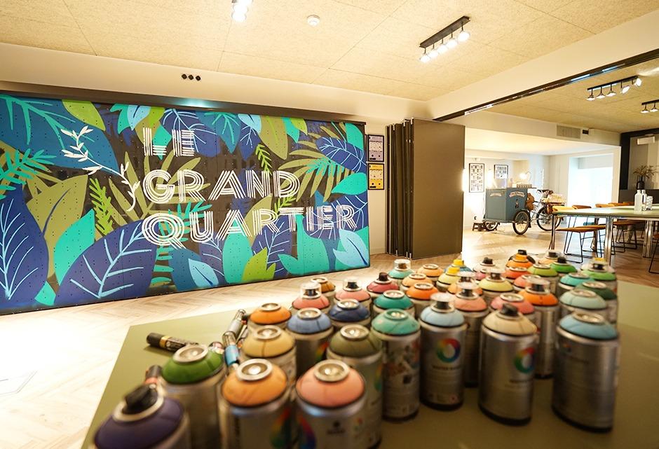 team building, graffiti, street art, entreprise, live, groupe, salarié, collègues