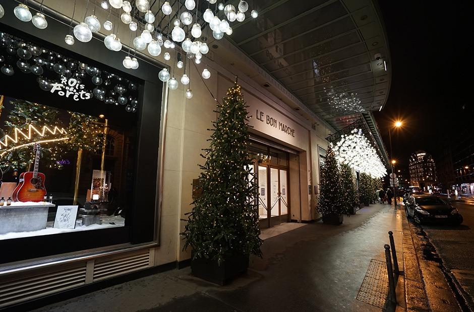 Noël, christmas, fêtes de fin d'années, Montblanc, LBM, Le Bon Marché, Paris, Luxe