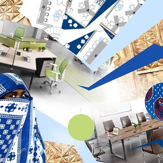 Moodboard, décoration, intérieure, projet décoratif