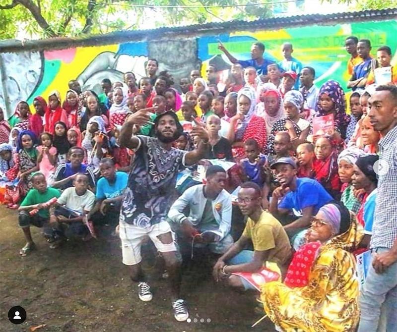 Artistes, urbains, graffeurs, comores, afrique, Swana Studio, Anjouan