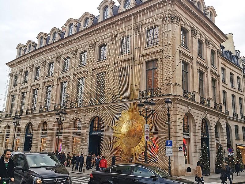 Boutique, Magasin, Louis Vuitton, installation, Soleil