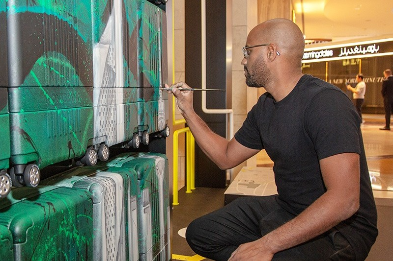Hakim, Idriss, calligraphe, calligraffiti, Koweit, City, calligraffiti