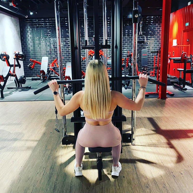 Décoration, salle, sport, fitness, bien être, musculation