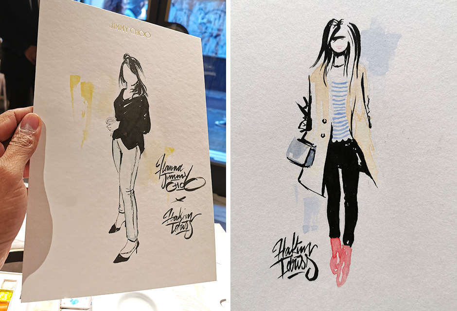 Artiste, illustrateur, Mode, luxe, chic, Art