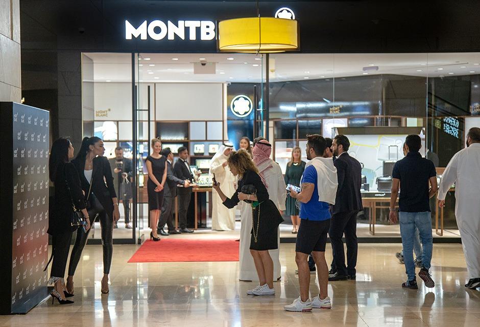 Montblanc, soirée, invitées, photocall, luxe, event