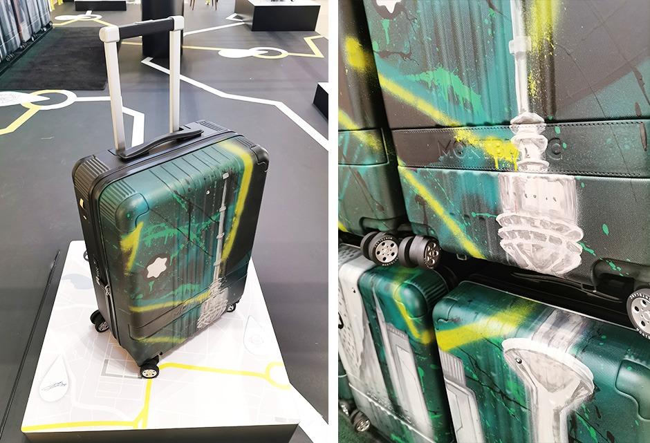 valise, bagage, luxe, Montblanc, personalisation, piece unique, série limitée